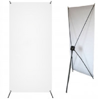 X-Banner Basic 60 x 160 cm, ohne Banner-Display